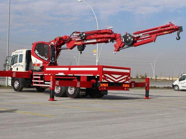 On-Vehicle Hydraulic Crane