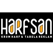 Harfsan Krom Harf Tabela Reklam