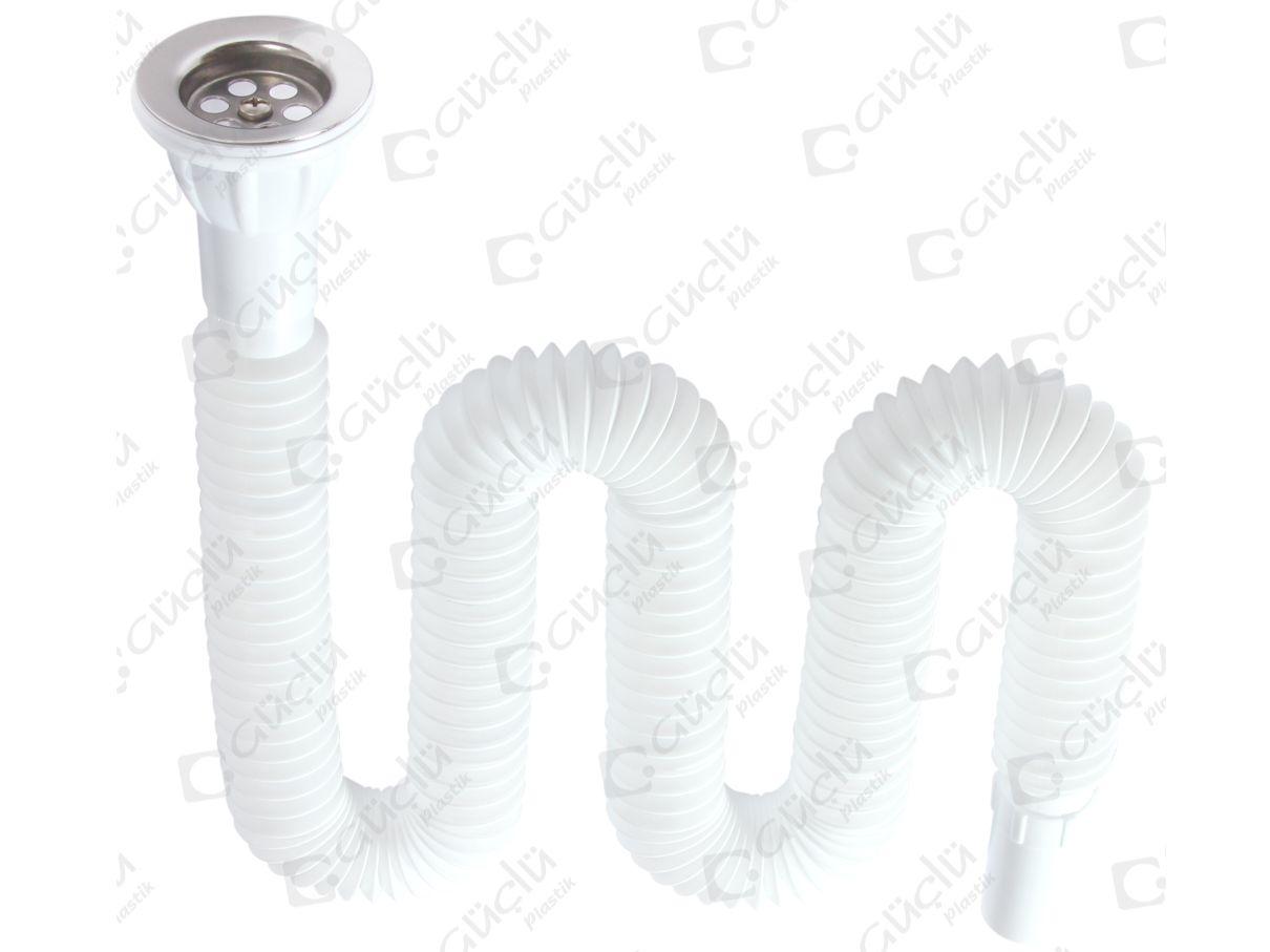 Washbasin drain pipe