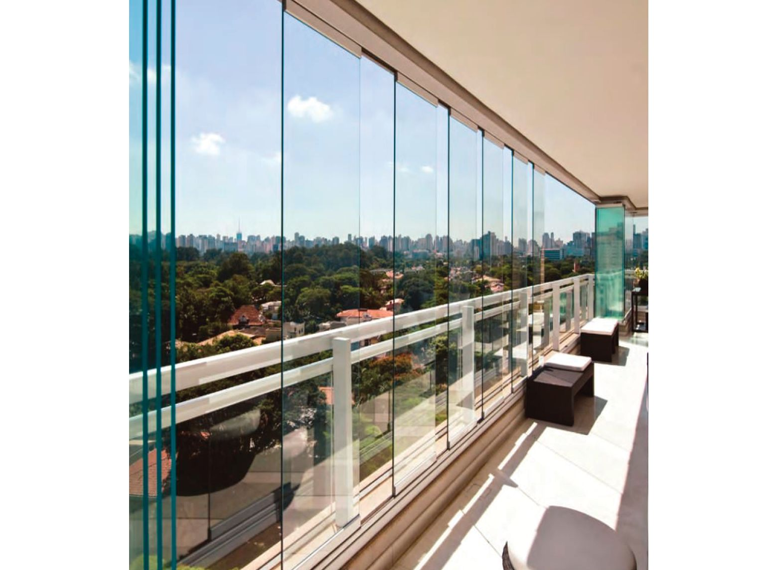 Insulating Glass Balcony